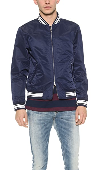 Gant Rugger Nylon Varsity Jacket