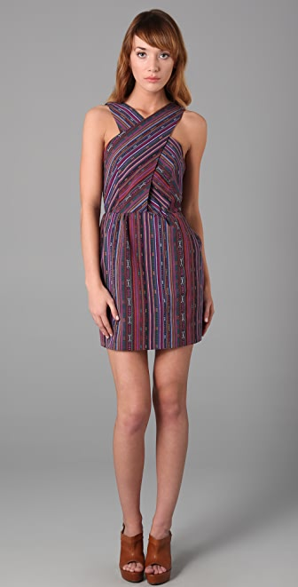 GAR-DE Guajira Multi Stripe Dress