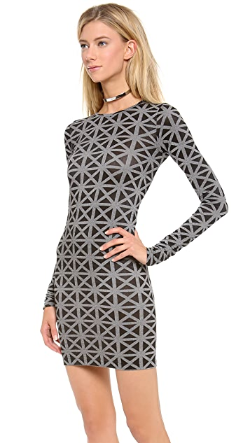 Gareth Pugh X Marked Long Sleeve Dress