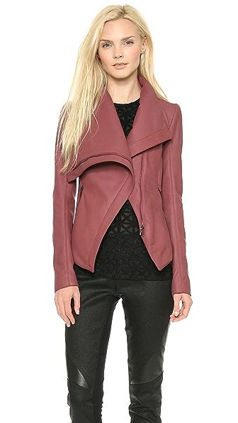 Gareth Pugh Leather Razor Jacket