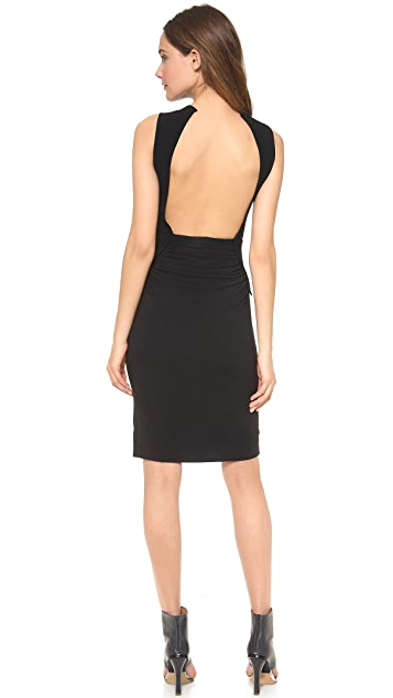 Gareth Pugh Ruched Sleeveless Dress