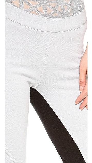 Gareth Pugh Leather Patch Leggings