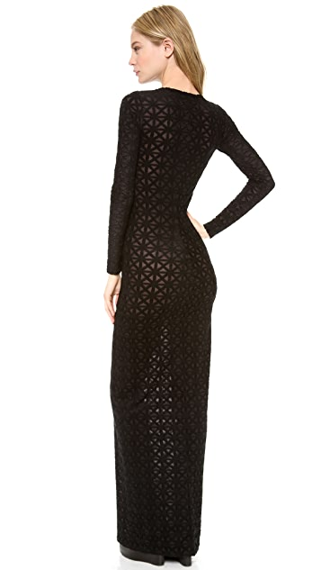 Gareth Pugh Long Sleeve Gown