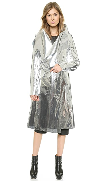 Gareth Pugh Mirrored Coat