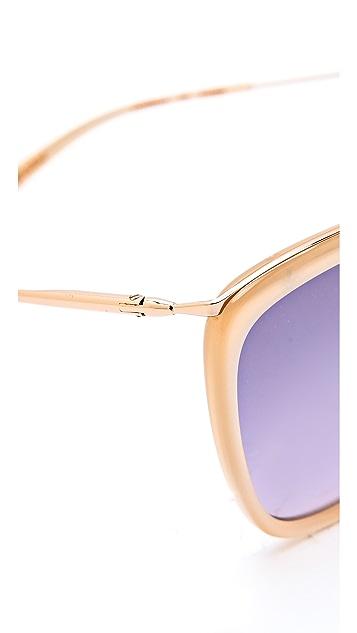 GARRETT LEIGHT Louella Sunglasses