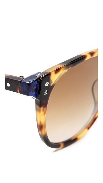 GARRETT LEIGHT Garrett Leight X Thierry Lasry Classic Sunglasses