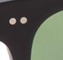 Matte Black/Pure Green