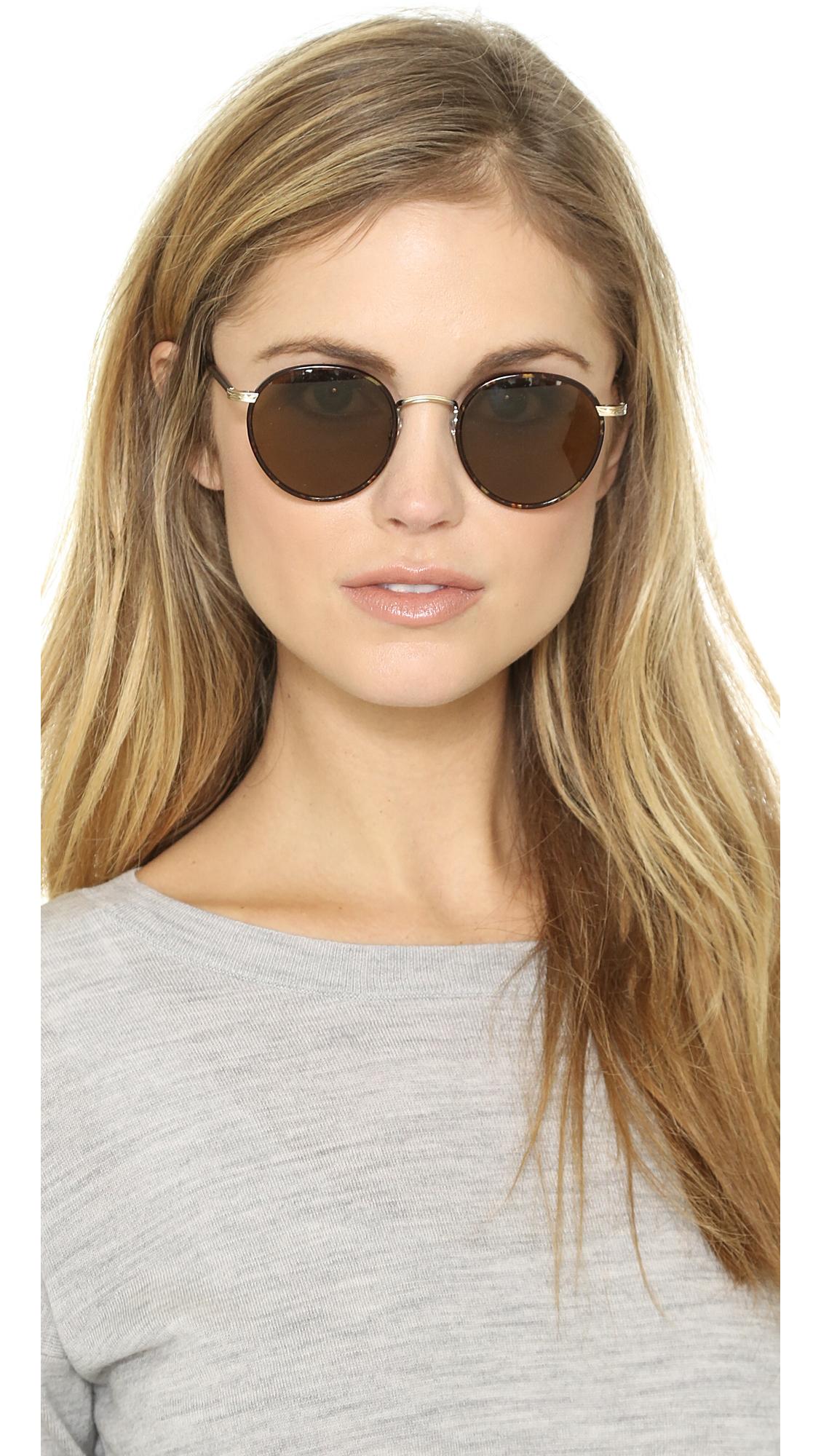 Wilson round-frame sunglasses Garrett Leight xTIuBcSc