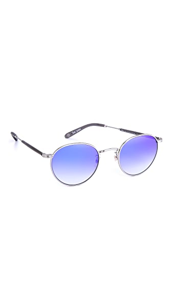 GARRETT LEIGHT Wilson Mirrored Sunglasses