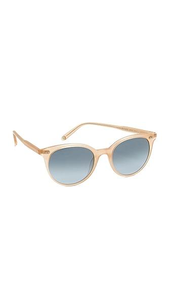 GARRETT LEIGHT Dillion Sunglasses In Matte Pink Crystal/Denim