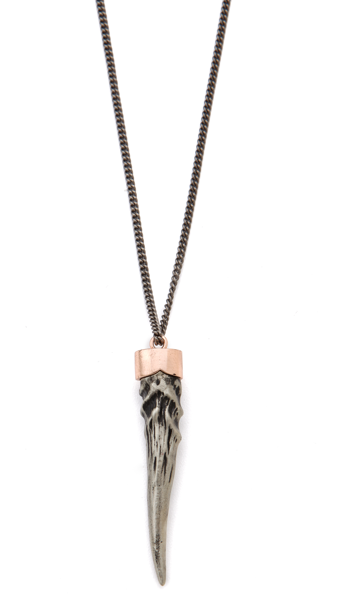 pendant layered necklace hanuel product tusk