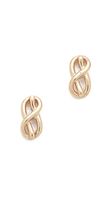 Gabriela Artigas Knot Stud Earrings