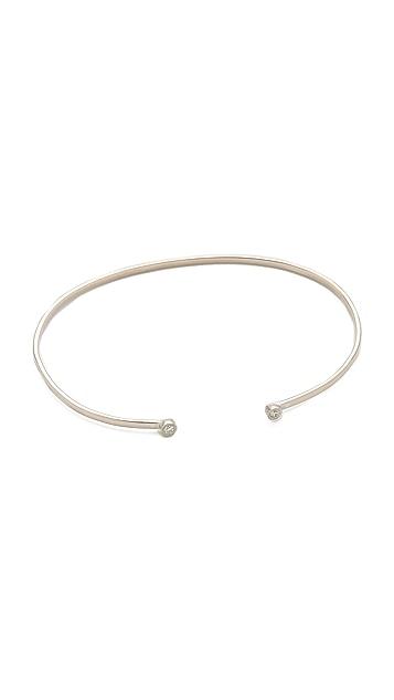 Gabriela Artigas Double Diamond Cuff Bracelet