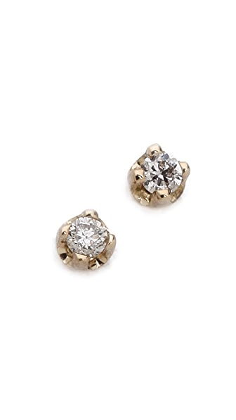 Gabriela Artigas Diamond Stud Earrings