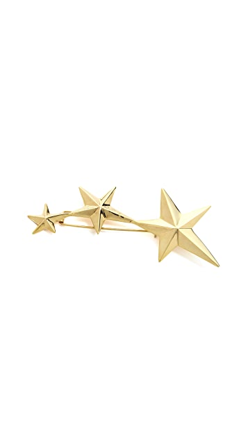Gabriela Artigas Triple Shooting Star Head Piece