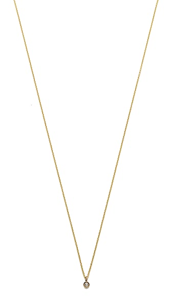 Gabriela Artigas Baby Bezel Necklace