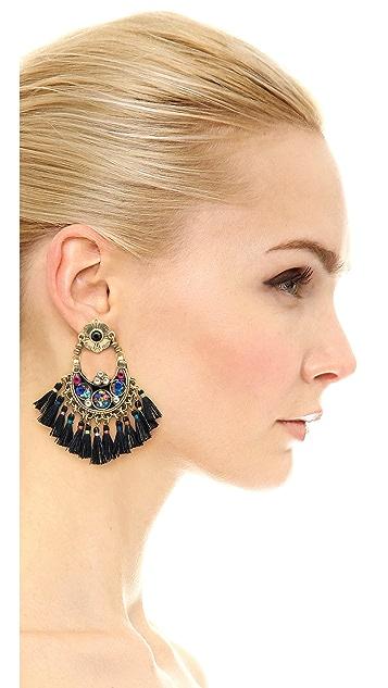 GAS Bijoux Eventails Earrings