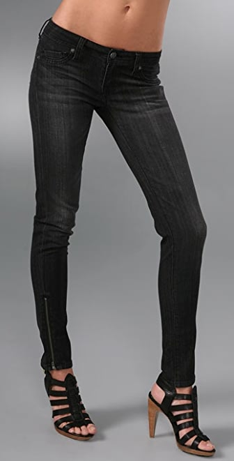 Genetic Los Angeles James Zipper Skinny Jeans | SHOPBOP