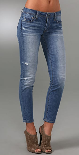 Genetic Los Angeles Bardot Cigarette Ankle Jeans