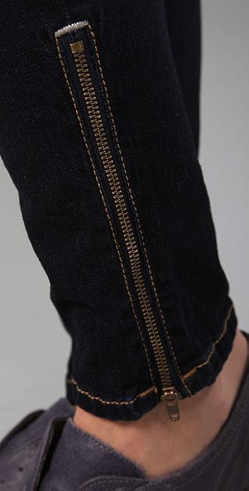 Genetic Los Angeles The James Zipper Cigarette Jeans