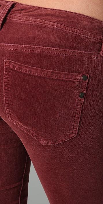 Genetic Los Angeles Shane Velvet Cigarette Pants