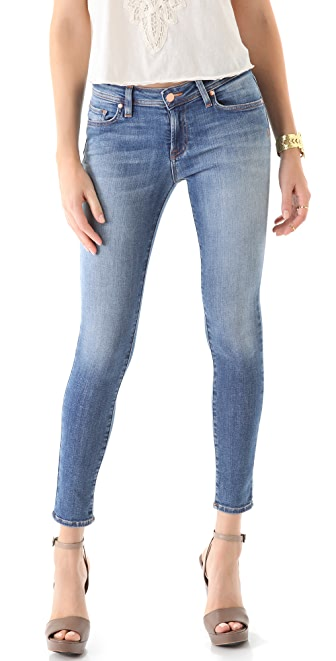 Genetic Los Angeles Raquel Crop Cigarette Jeans