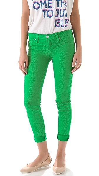 Genetic Los Angeles Shane Crop Cigarette Jeans