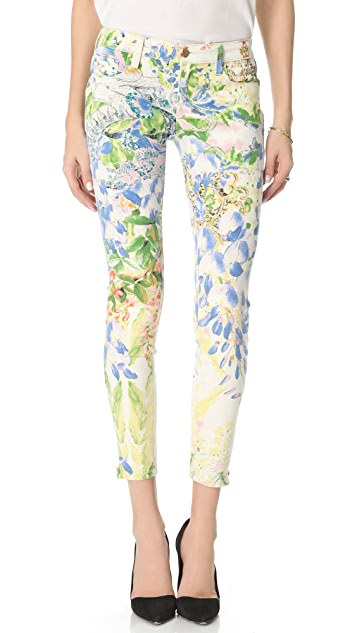 Genetic Los Angeles James Floral Cigarette Jeans