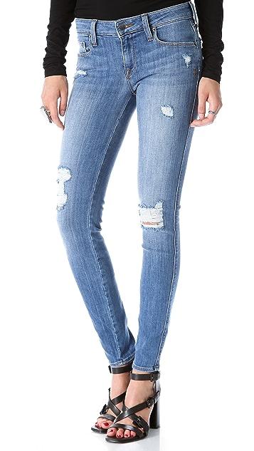 Genetic Los Angeles Shya Distressed Skinny Jeans