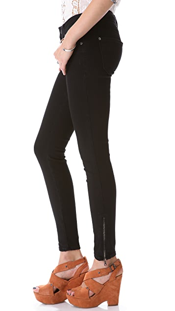 Genetic Los Angeles James Zip Skinny Jeans