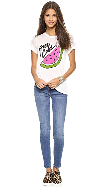 Genetic Los Angeles Stem Mid Rise Skinny Jeans