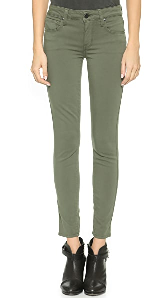 Genetic Los Angeles Daphne Midrise Crop Jeans