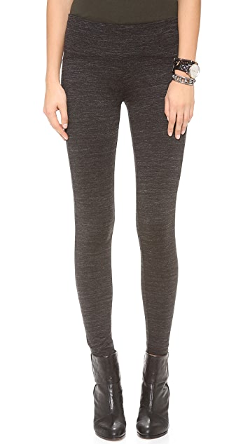 GETTING BACK TO SQUARE ONE Zip Leggings
