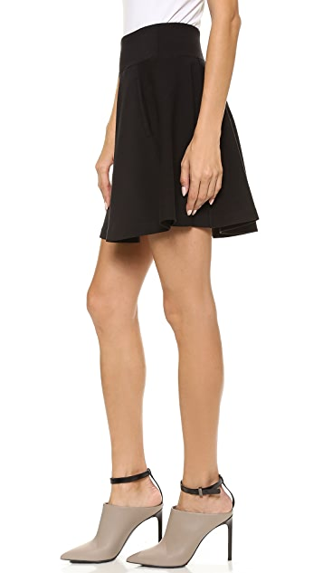 GETTING BACK TO SQUARE ONE Flare Skirt