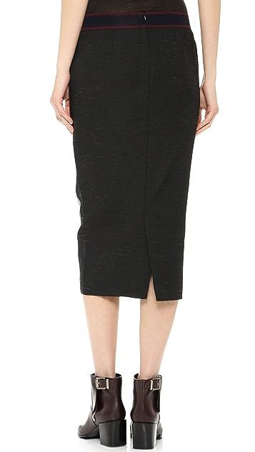 Giada Forte Knee Length Pencil Skirt