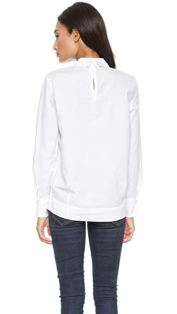 Giada Forte Structured Collared Blouse
