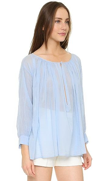 Giada Forte Voile Curled Shirt Shopbop