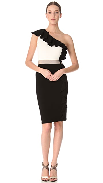 Giambattista Valli One Shoulder Sheath Dress