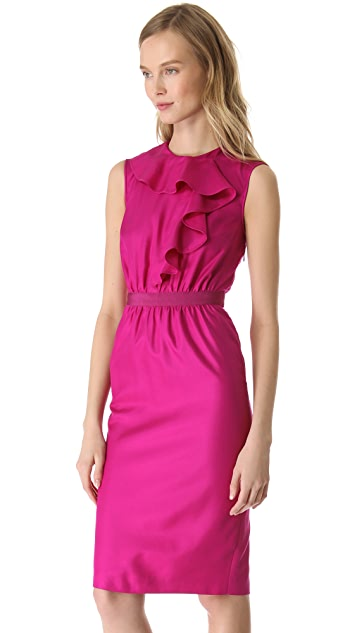 Giambattista Valli Ruffle Front Dress