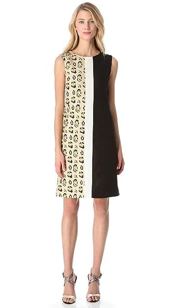 Giambattista Valli Leopard Combo Dress