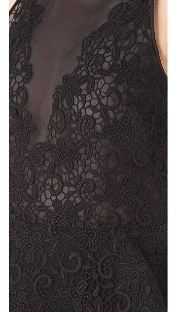 Giambattista Valli Embroidered Dress with Peplum