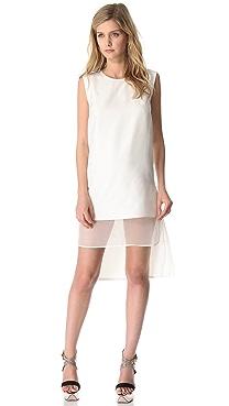 Giambattista Valli Sleeveless Double Layer Dress