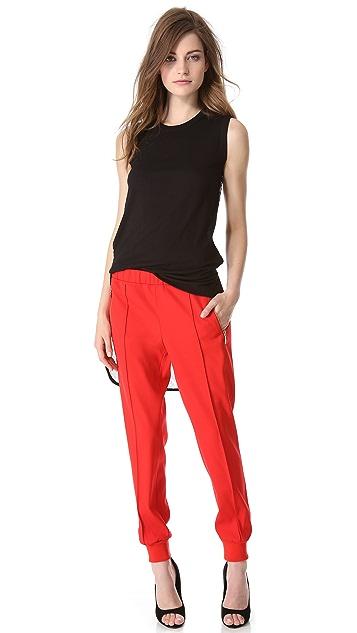 Giambattista Valli Lounge Pants with Knit Cuffs
