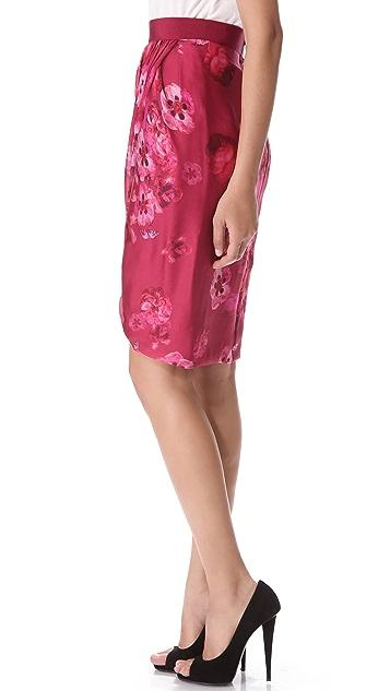 Giambattista Valli Printed Skirt