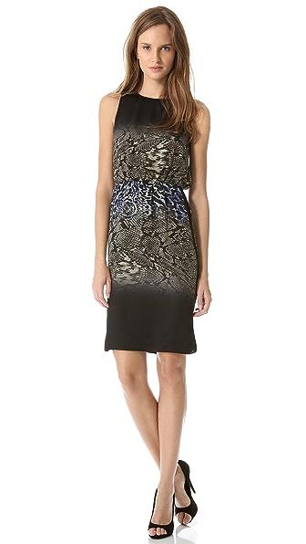 Giambattista Valli Sleeveless Printed Dress