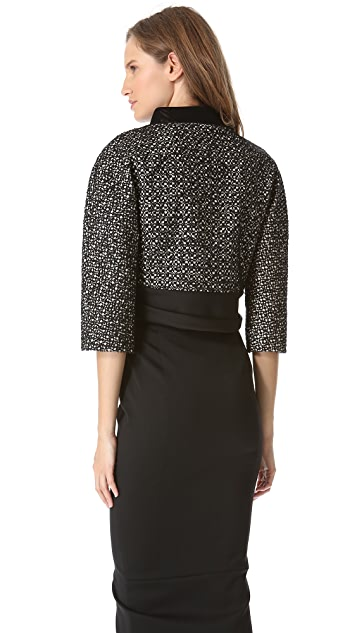 Giambattista Valli Bow Cropped Jacket