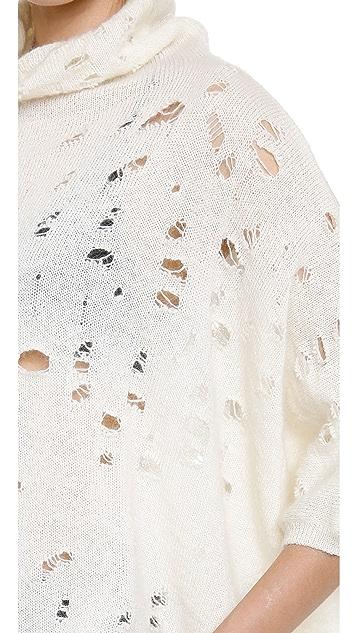 Giambattista Valli Sweater with Holes