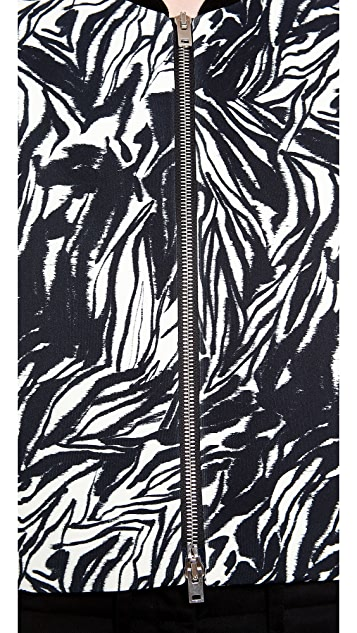 Giambattista Valli Zebra Bomber