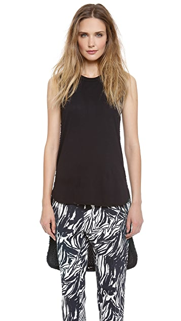 Giambattista Valli Sleeveless Paillette Top