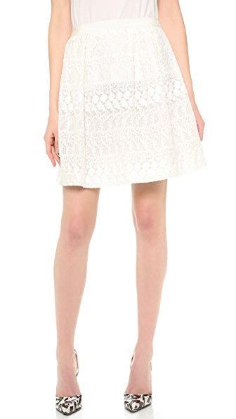Giambattista Valli Lace Skirt